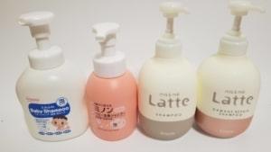 子供とと使える市販シャンプー美容師厳選